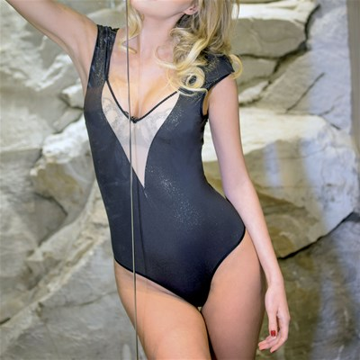 PLAYBOY Beth - Body sans armatures - noir/skin