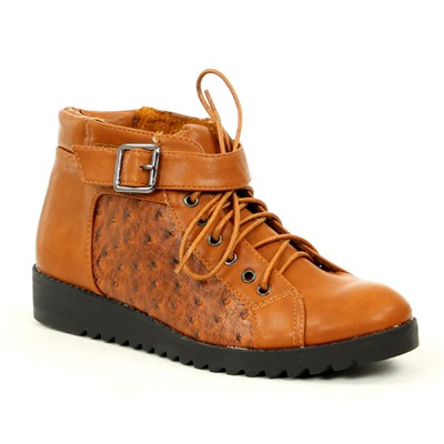 zapatillas R and Be Botines camel