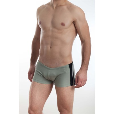 L Homme Invisible Mini boxer de bain - gris