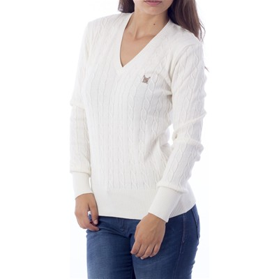 Polo Club Jersey - blanco