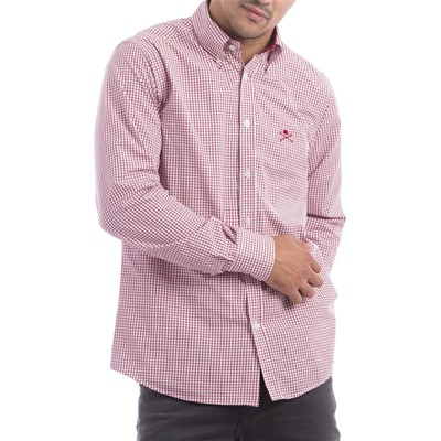 Polo Club Chemise - rouge