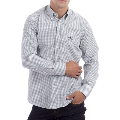Polo Club Camisa casual - verde
