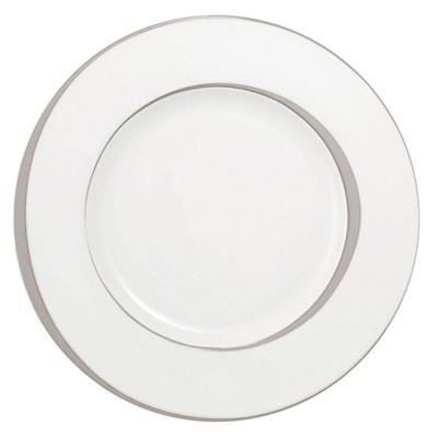 GUY DEGRENNE Boreal Ellipse - Lot de 3 assiette de présentation en porcelaine - blanc