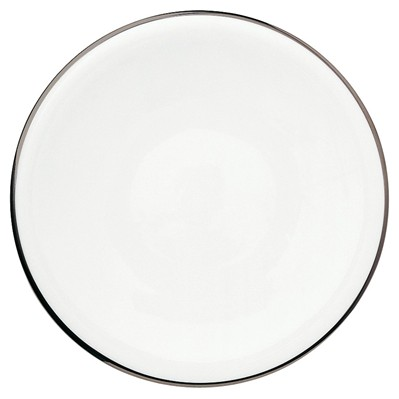 GUY DEGRENNE SD One Platine - Lot de 3 assiettes de présentation en porcelaine