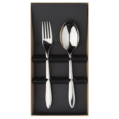 GUY DEGRENNE Norway - Coffret couverts de service - Miroir