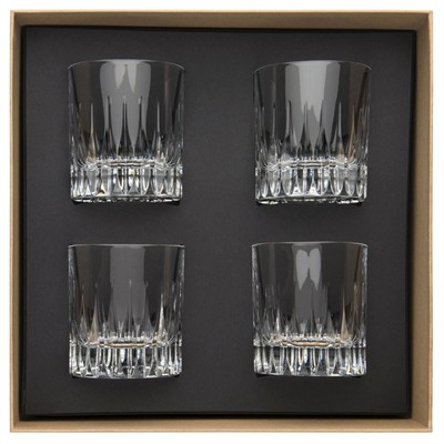 GUY DEGRENNE Soprano Transparent - Coffret de 4 verres à Whisky - transparent