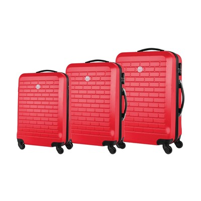 GEOGRAPHICAL NORWAY Strass - Bagage - rouge