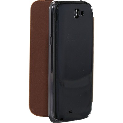 THE KASE Coque pour Samsung Galaxy Note 2 - marron