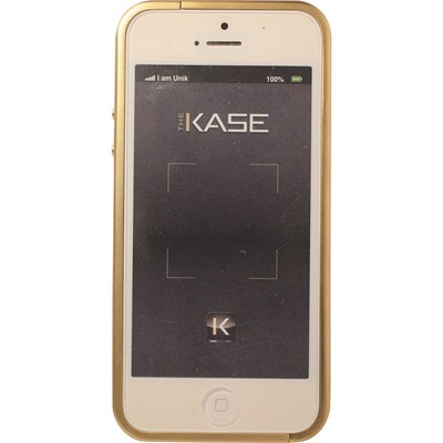 THE KASE Rock n Roll - Bumper pour iPhone 5 et 5S - noir