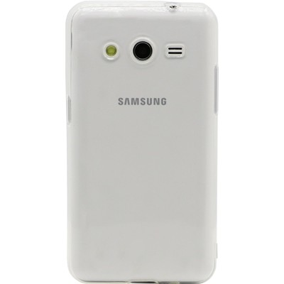 THE KASE Coque pour Samsung Galaxy Core 2 G355 - transparent