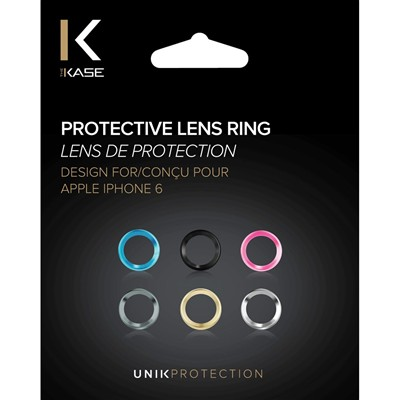 THE KASE Anneau de protection pour iPhone 6 et 6S - multicolore