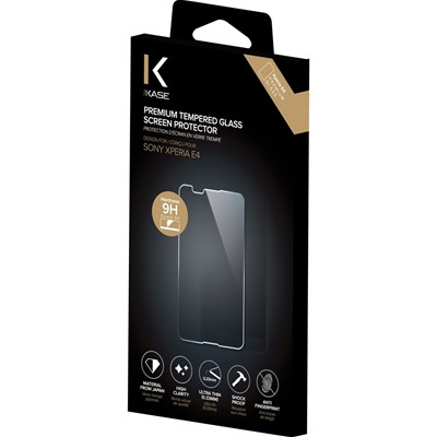 THE KASE Protection d'écran pour Sony Xperia E4 - transparent