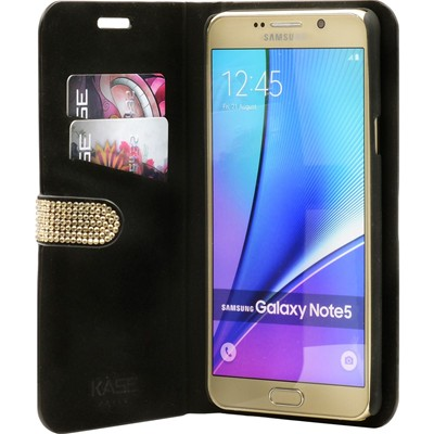 Note Or Galaxy The Pour 5 Kase Coque Clapet Samsung Ywxag78xq