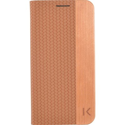 THE KASE Coque clapet pour Samsung Galaxy S6 - marron