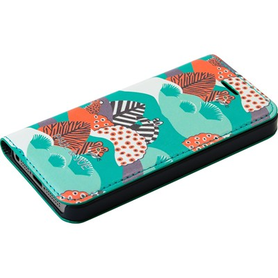 THE KASE Paul & Joé Jungle - Coque clapet pour iPhone 5 et 5S - multicolore