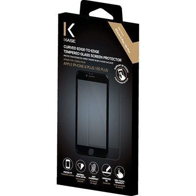 THE KASE Protection écran pour iPhone 6 Plus et 6S Plus - transparent