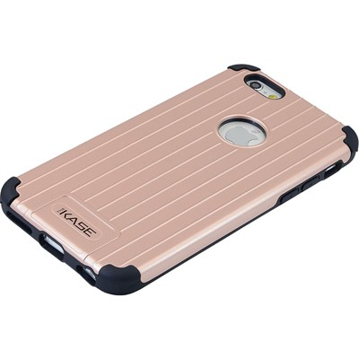 THE KASE Coque valise pour iPhone 6 et 6S - rose