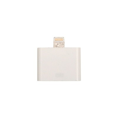 THE KASE Adaptateur lightning vers 30 broches pour iPhone 5, 5S et 5C - blanc