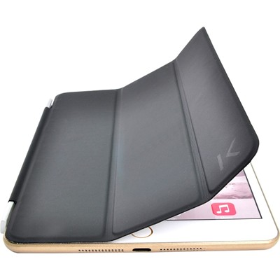 THE KASE Smart cover pour iPad mini 1, 2  et 3 - noir