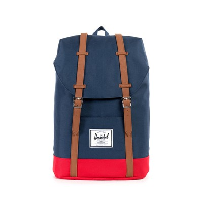 Retreat - Sac à dos - navy/ rouge