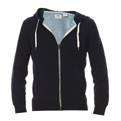 Original zip Up Hoodies - Sweat à capuche - bleu marine