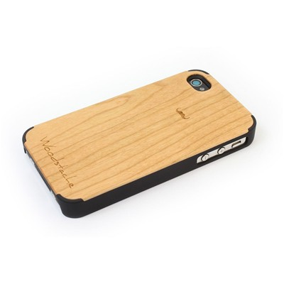 WOODSTACHE Marcus - Coque pour iPhone 4/4S - marron clair
