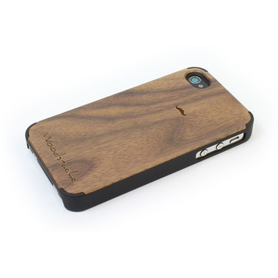WOODSTACHE Marcus - Coque pour iPhone 4/4S - marron