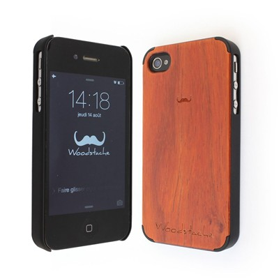 WOODSTACHE Marcus - Coque pour iPhone 4/4S - rouille
