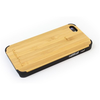 WOODSTACHE Marcus - Coque pour iPhone 5/5S - marron clair