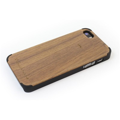 WOODSTACHE Marcus - Coque pour iPhone 5/5S - marron