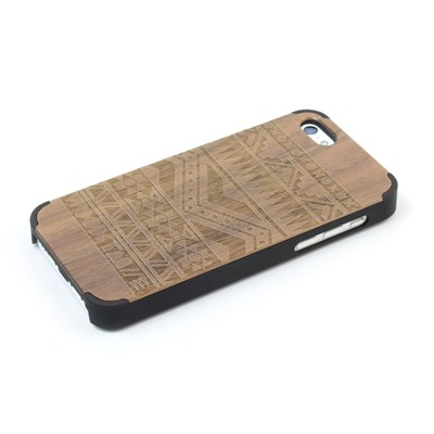 WOODSTACHE Navajo - Coque pour iPhone 5C - marron