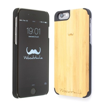 WOODSTACHE Marcus - Coque pour iPhone 6 - marron clair