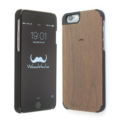 WOODSTACHE Marcus - Coque pour iPhone 6 - marron