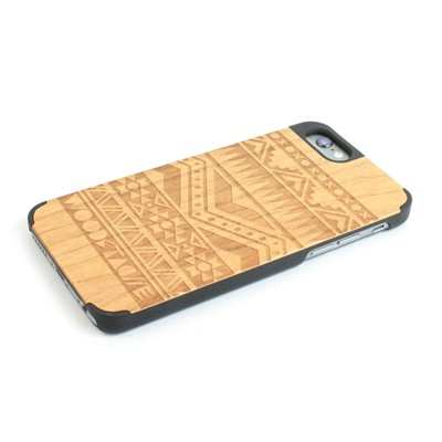 WOODSTACHE Navajo - Coque pour iPhone 6 Plus - marron clair