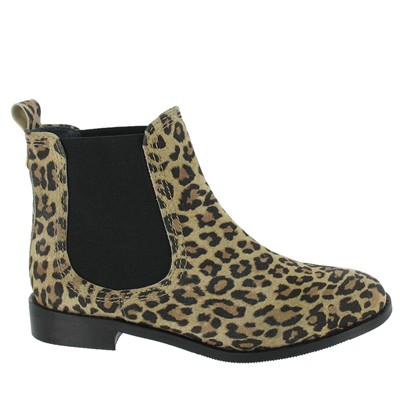 Bottines en cuir - multicolore