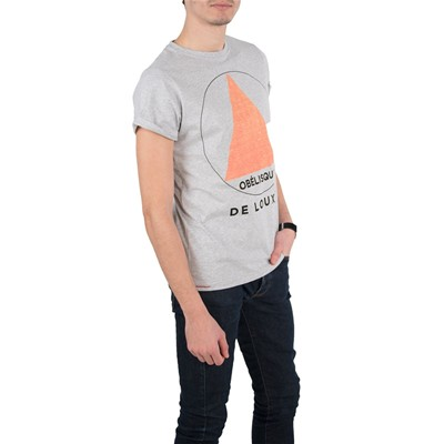 FIL MOOD T-shirt - gris chine