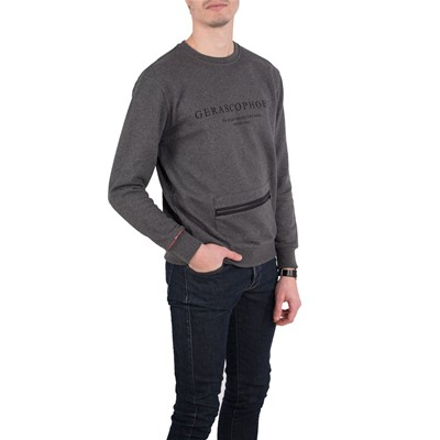 FIL MOOD Sweat-shirt - gris foncé