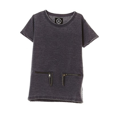 HOPE N LIFE Molko-J - T-shirt manches courtes - gris