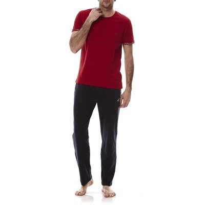 EMPORIO ARMANI UNDERWEAR MEN T-shirt - rouge