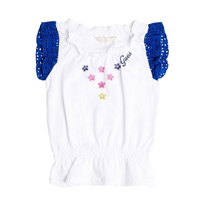 GUESS KIDS Robe tunique - blanc