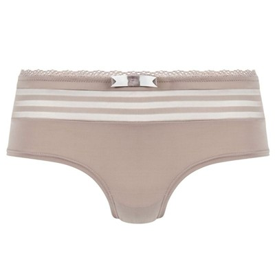 POMM'POIRE Songeuse - Shorty - taupe/ivoire