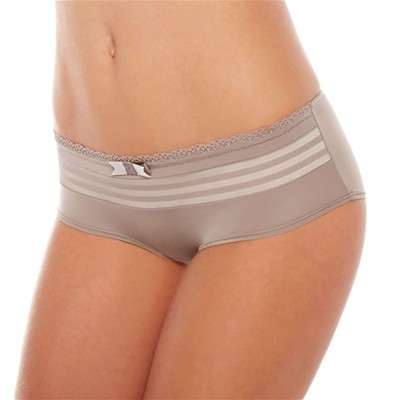 POMM'POIRE Shorty Songeuse taupe/ivoire