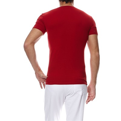 EMPORIO ARMANI UNDERWEAR MEN T-shirt - bordeaux