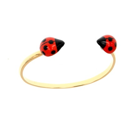 Face to face coccinelle - Bracelet - rouge