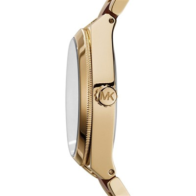 Channing - Montre en acier inoxydable - marron