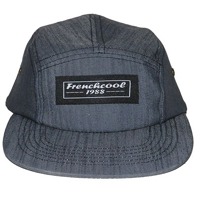 FRENCHCOOL 5 Panels - Casquette en coton Frenchcool 1988 - gris