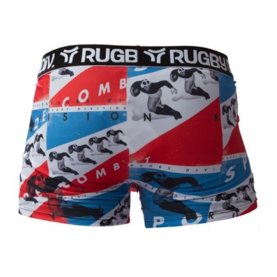 RUGBY DIVISION Boxer - rouge