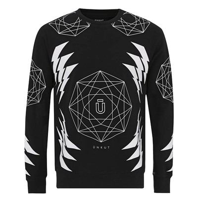ÜNKUT Galaxy - Sweat-shirt - noir