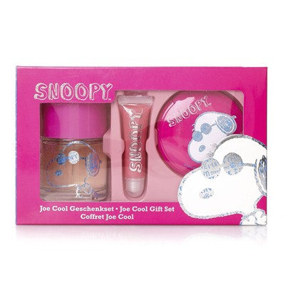 SNOOPY Joe Cool - Coffret eau de toilette Snoopy - fuchsia