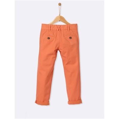 CYRILLUS Pantalon chino - orange